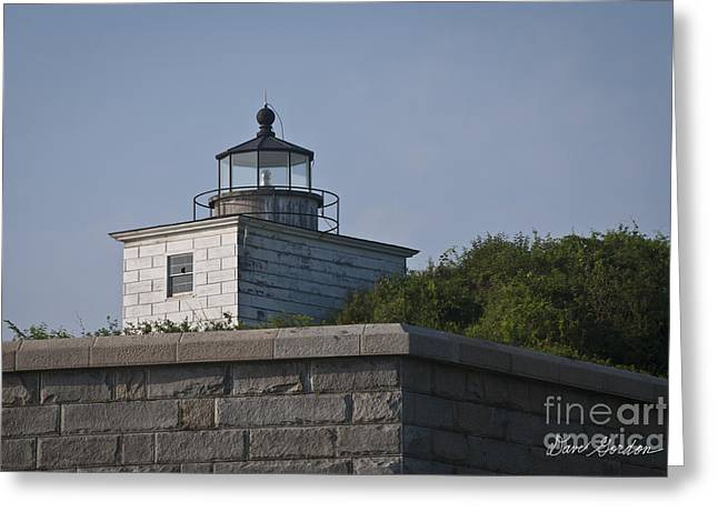 Fort Taber Lighthouse Greeting Card by David Gordon