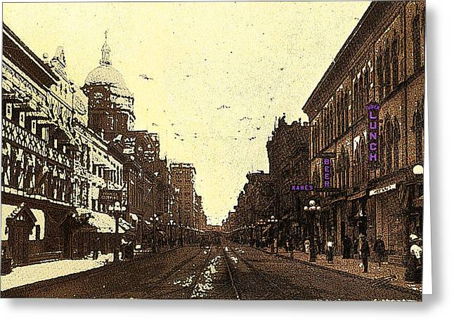 Fort Wayne Indiana 1913 Greeting Card
