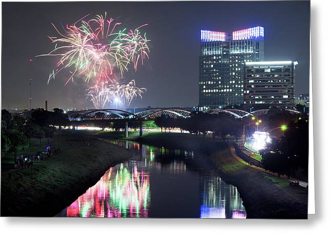 Fort Worth Fourth 41017 Greeting Card by Rospotte Photography