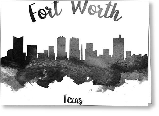 Fort Worth Texas Skyline 18 Greeting Card