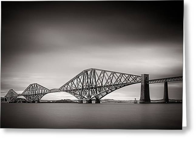 Forth Bridge Greeting Card by Tim Haynes