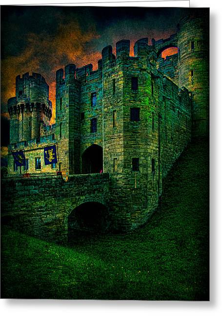 Fortress Greeting Card by Chris Lord