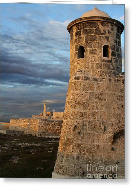 Fortress Havana Greeting Card