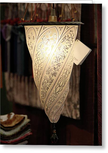 Fortuny Lamp Greeting Card