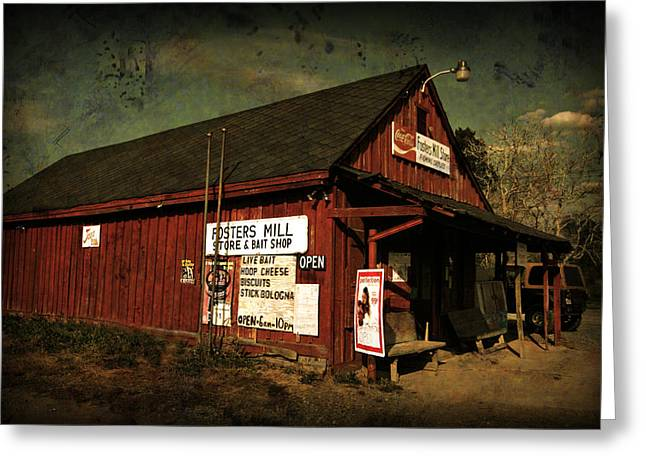 Fosters Mill Store Greeting Card