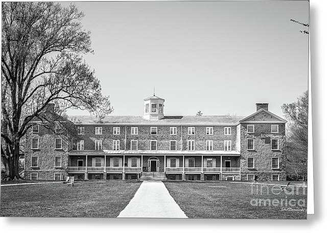 Haverford College Founders Hall  Greeting Card by University Icons
