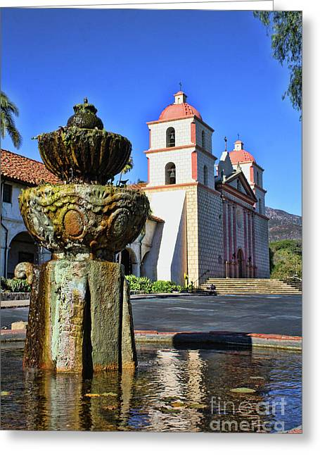 Fountain at mission santa barbara photograph by tommy anderson for Case in stile missione santa barbara