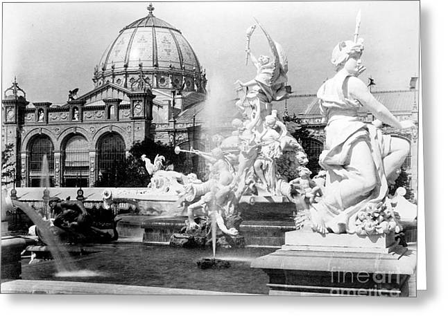 Fountain Coutan And Palace Of Fine Greeting Card by Science Source