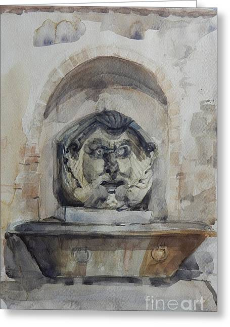 Fountain In Rome Greeting Card