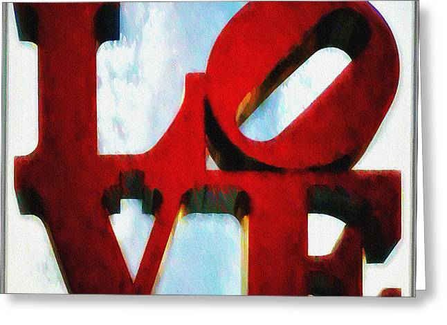 Fountain Of Love  Greeting Card by Bill Cannon