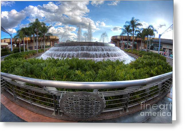 Fountain Of Nations Greeting Card