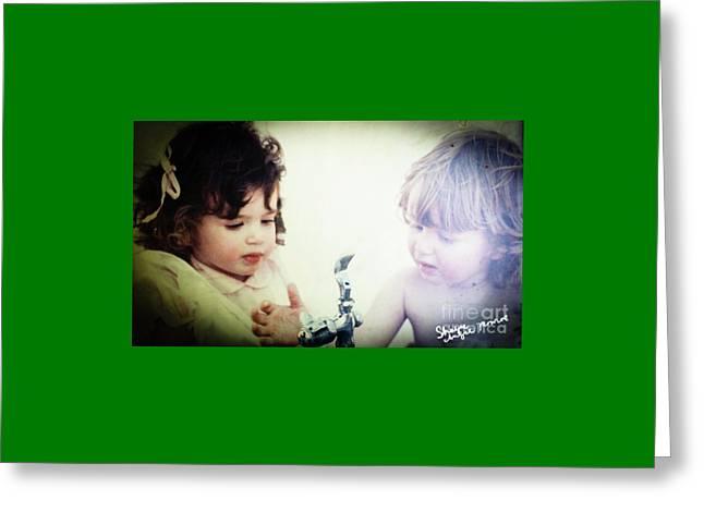 Wonder Of Youth Greeting Card