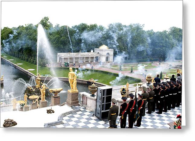 Fountains B416 Greeting Card by Charles  Ridgway