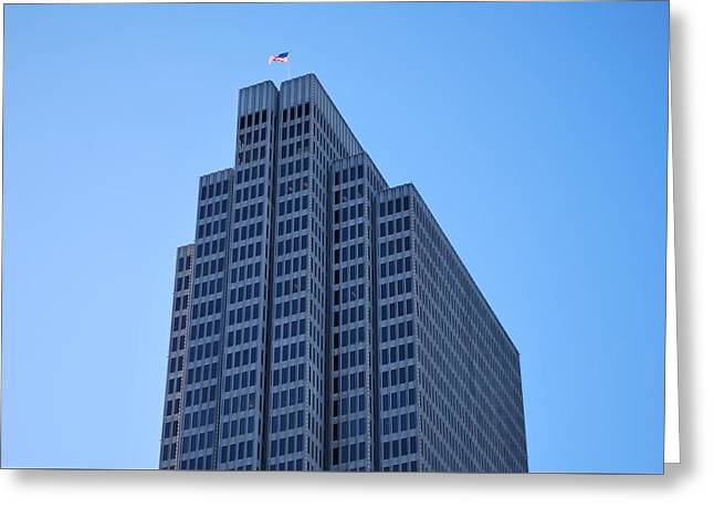 Four Embarcadero Center Office Building - San Francisco Greeting Card