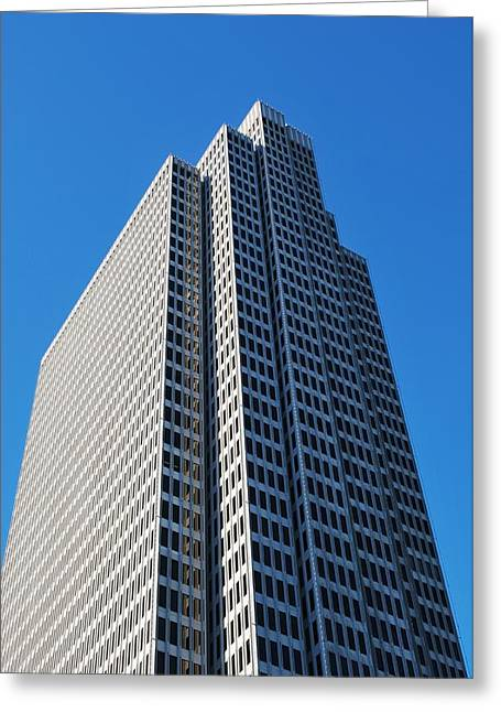 Four Embarcadero Center Office Building - San Francisco - Vertical View Greeting Card