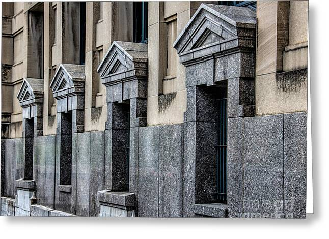 Four Of A Kind Greeting Card by Jon Burch Photography