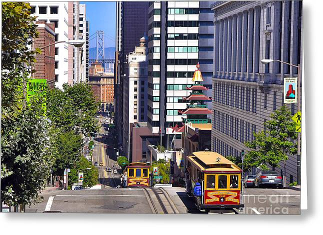 Four Points - San Francisco Greeting Card