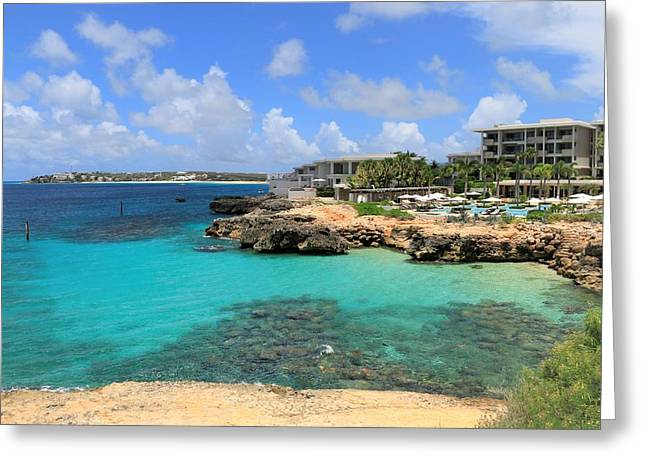 Four Seasons Hotel In Anguilla Greeting Card