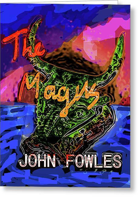Fowles Magus Poster  Greeting Card