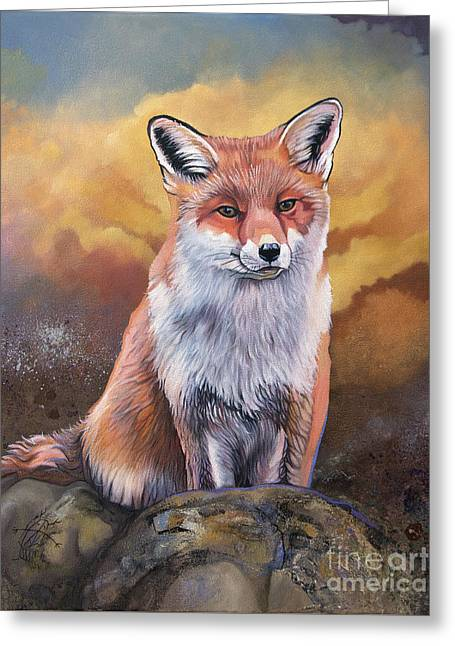 Fox Knows Greeting Card