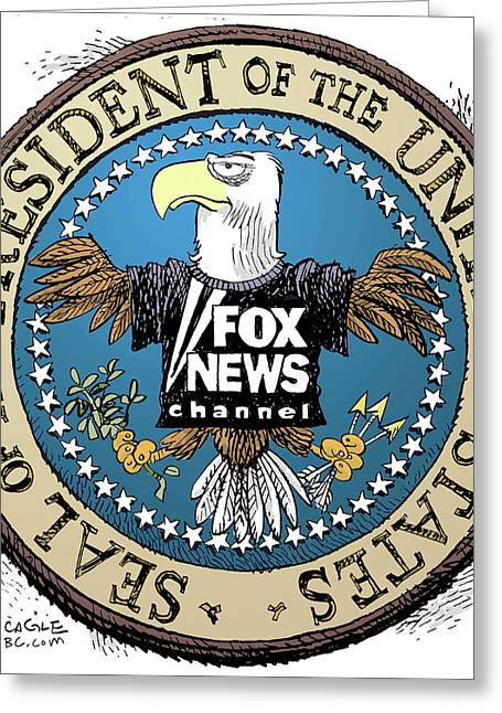 Fox News Presidential Seal Greeting Card