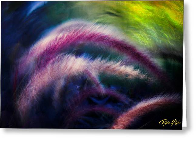 Greeting Card featuring the photograph Foxtails In Shadows by Rikk Flohr