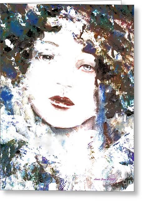 Beautiful Woman  Greeting Card