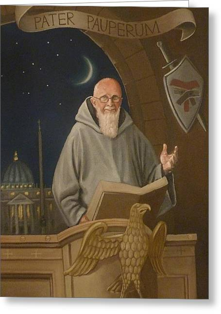 Fr. Benedict Greeting Card