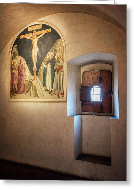 Fra Angelico Fresco Florence Italy Greeting Card