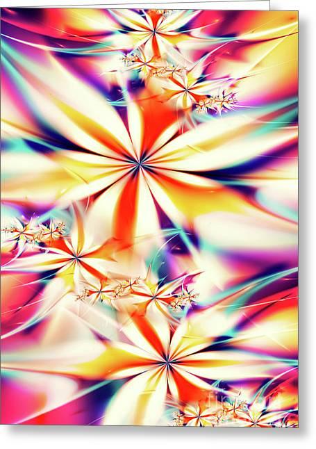 Fractal Art Xx Greeting Card by Tenyo Marchev