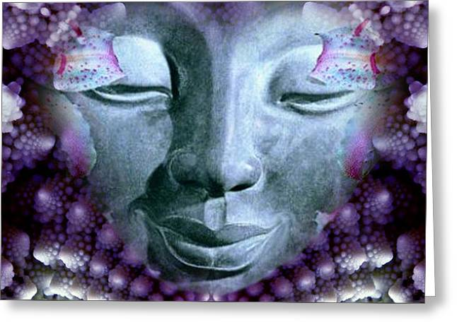 Fractal Bliss Greeting Card by Richard Copeland