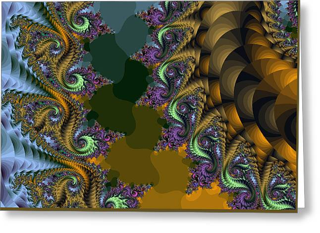 Fractals83002 Greeting Card
