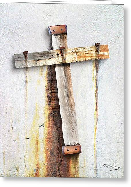 Fractured Faith Greeting Card