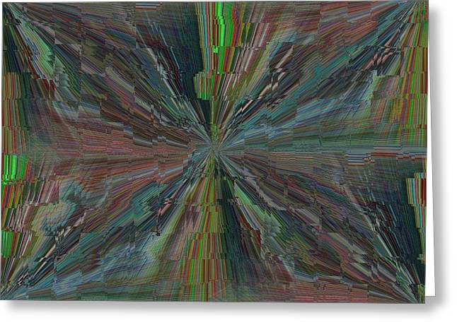 Fractured Frenzy Greeting Card by Tim Allen
