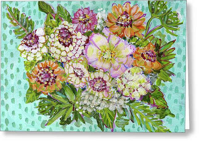 Fragile Is My Heart Greeting Card by Blenda Studio