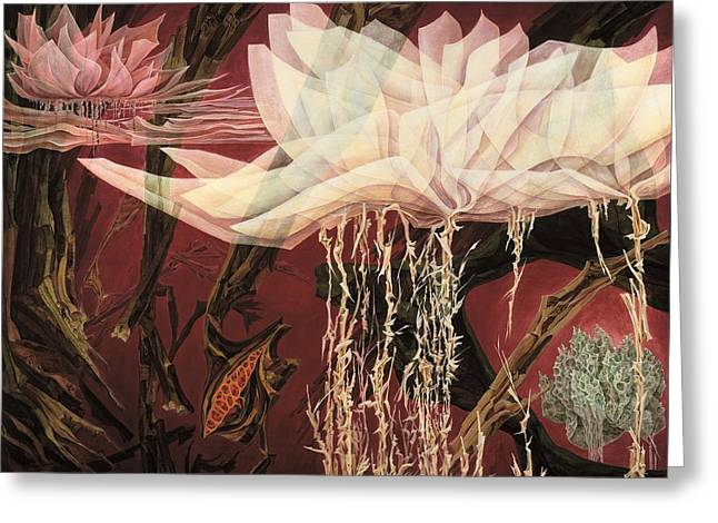 Fragility Greeting Card by Charles Cater