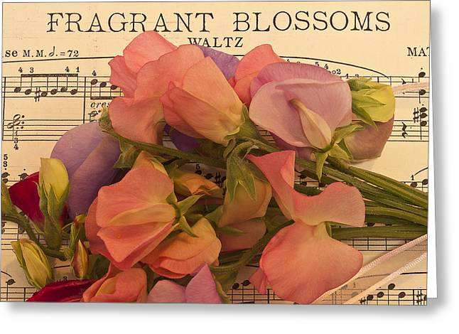Fragrant Blossoms Greeting Card