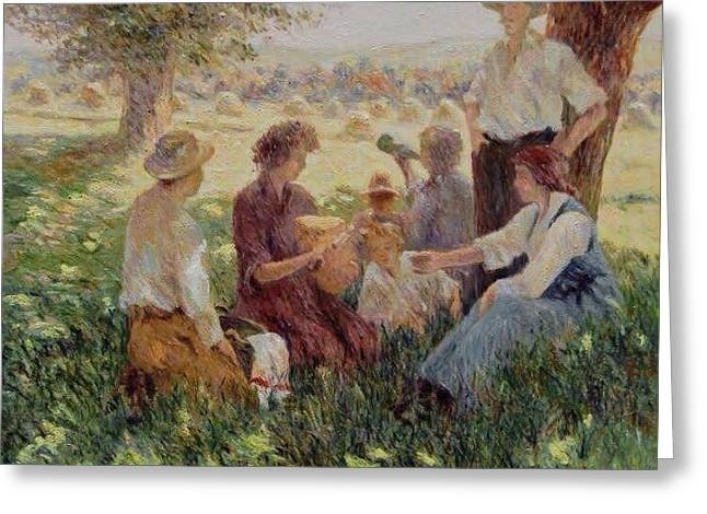 France Country Life  Greeting Card