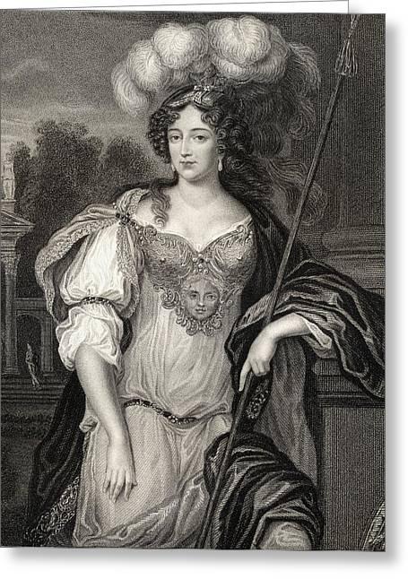Frances Teresa Stuart Duchess Of Greeting Card