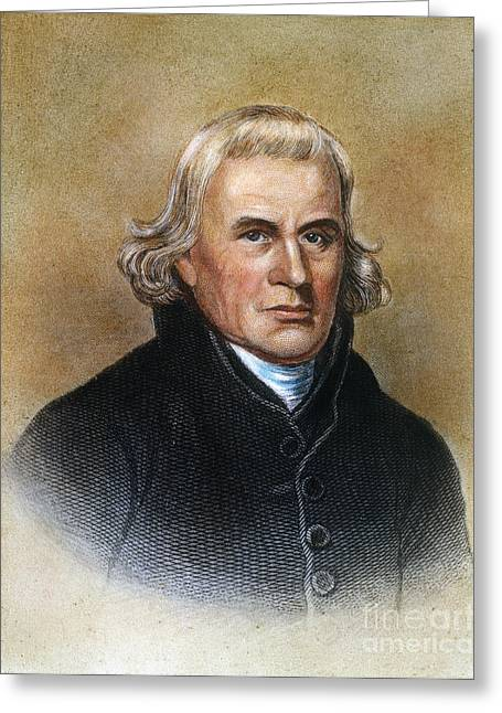 Francis Asbury (1745-1816) Greeting Card by Granger