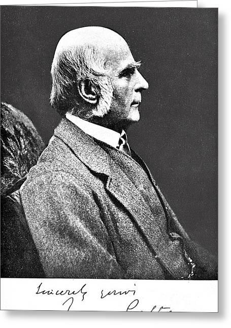 Francis Galton, English Anthropologist Greeting Card