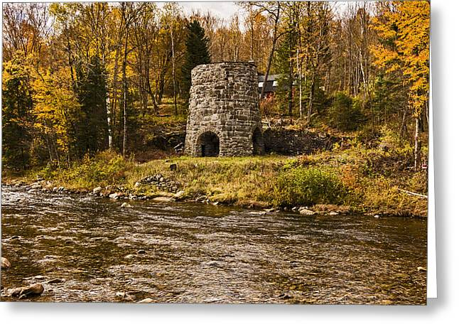 Greeting Card featuring the photograph Franconia Fall by Anthony Baatz