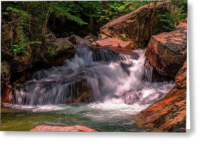Franconia Notch 2 Greeting Card by Sherman Perry