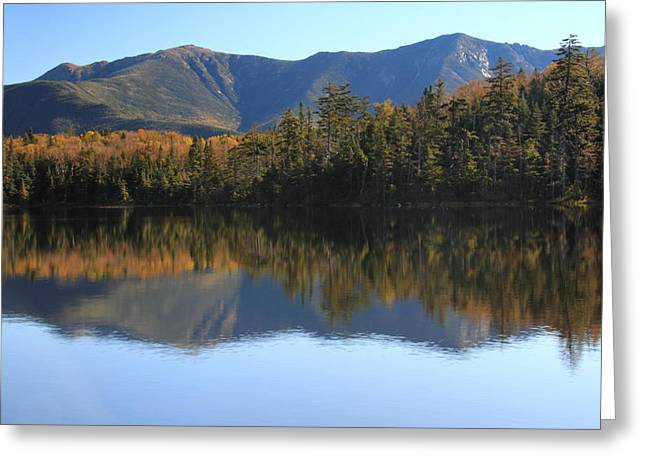 Franconia Ridge From Lonesome Lake Greeting Card