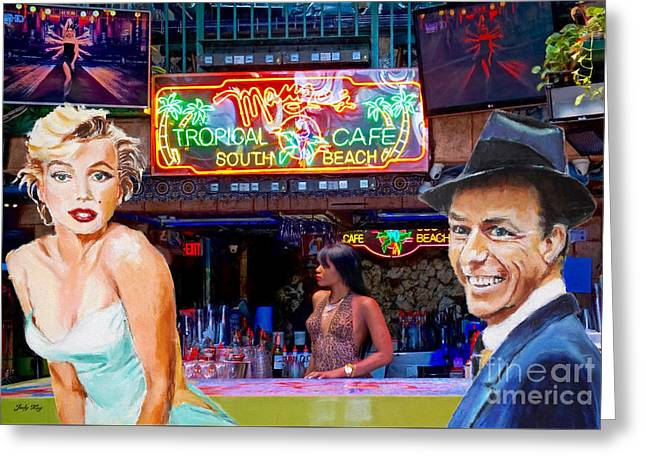 Frank And Marilyn Greeting Card by Judy Kay