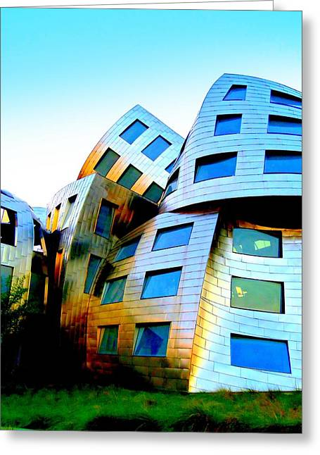 Frank Gehry 3 Greeting Card by Randall Weidner