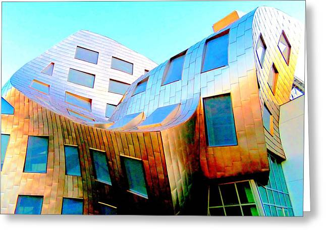 Frank Gehry 9 Greeting Card