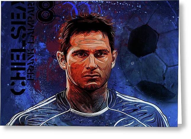 Frank Lampard  Greeting Card