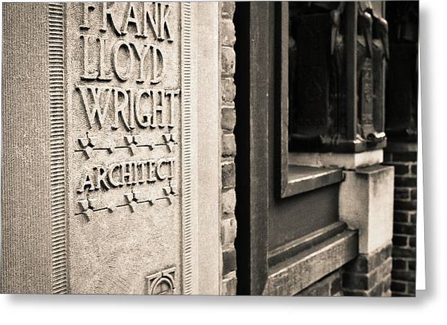Frank Lloyd Wright's Studio Greeting Card