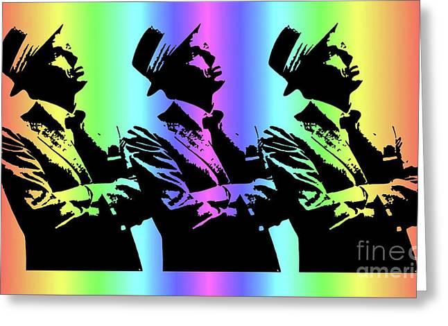 Frank Sinatra Art Greeting Card